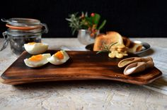 Natural wood cutting board Beech wood serving by PenoffCrafts, $55.00