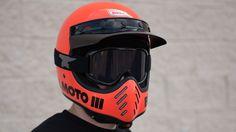 Bell Moto 3 Helmet Back in Bell Lineup - Get Lowered Cycles Ducati Scrambler, Bobber, Bmx, Motocross, Bell Moto 3, Gs500, Bell Helmet, Riding Gear, Vintage Bikes