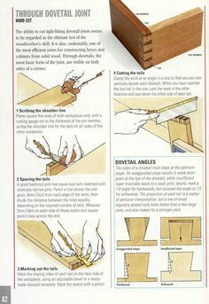 Good Wood Joints - Dovetails