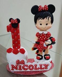 Minie. Sempre.... #biscuit #magalidobiscuit #biscuitbrasil #veladecorada #topodebolominie #miniedebiscuit