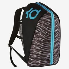 Nike KD Max Air VIII Basketball Backpack *** Quickly view this special product, click the image : Hiking backpack Men's Backpack, Hiking Backpack, Black Backpack, Drawstring Backpack, Nike Basketball, Basketball Stuff, Blue Lagoon, Backpacking, Outdoor Gear