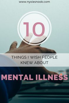 What are some of the things you wish people knew about your mental illness or mental health disorders?   #mentalillnessrecovery #recovery #mentalillnessawareness #awareness #mentalillnessdisorders #disoders #anxiety #depression #mentalhealth #mentalhealthawareness