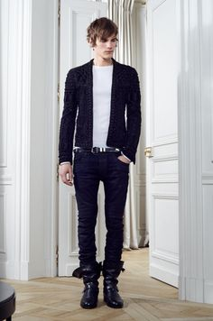 I love this look -  Balmain, by Olivier Rousteing (Fall-Winter 2012-2013)