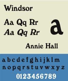 60's typography