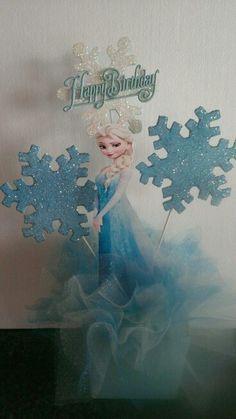 Elsa center piece