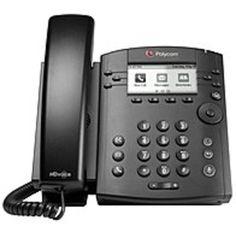 Polycom 300 IP Phone - Cable - Desktop - 6 x Total Line - VoIP - Speakerphone - 2 x Network (RJ-45) - PoE Ports