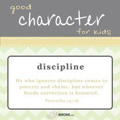 Good Character for Kids  imom.com/tools/training-tools/good-character-for-kids/#discipline  #character