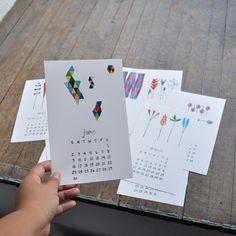 lovely illustrations | CALENDAR 2013  by bookhou