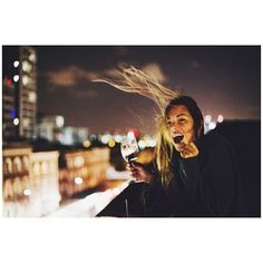 hahaha silly article. pretty picture. but seriously can I get a glass of wine and a city-lit rooftop?! I'd appreciate it right now.