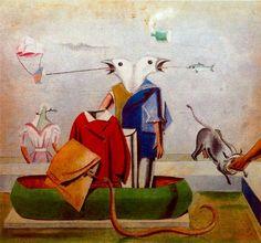 """Max Ernst ~ """"Birds"""", 1921"""