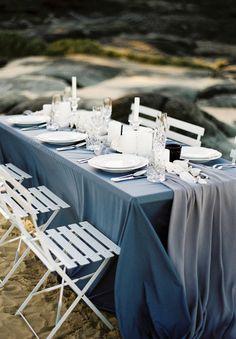 Nautical Beach Coastal Wedding Inspiration // When Elephant Met Zebra // Bohemian Brides // Erin Clare // The Beauty Case // Simply Style Co. // The Orange Blossom // Dallys Models
