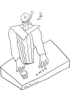 Lorca drawing.