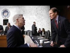 """Citing """"Looming"""" Trump Impeachment, Senator Won't Vote for Neil Gorsuch - YouTube"""
