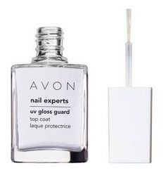 NAIL EXPERTS UV Gloss Guard Top Coat, Boosts shine in seconds! Keep nails looking just-done glossy. The built-in sun protection lets the high shine come through, and keeps yellowing and fading at bay. Avon Nail Polish, Nail Polish Online, Avon Nails, Nail Polish Bottles, Gel Polish, Manicure Colors, Nail Colors, Manicure Ideas, Pedicure