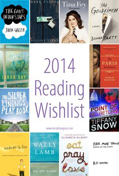 2014 Reading Wish List via www.hecallsmegrace.com