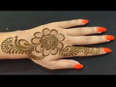 Mehandi Designs Easy, Mehndi Designs For Hands, Henna Designs, Mehndi Tattoo, Mehndi Art, Mehndi Patterns, Mehndi Brides, Mehndi Images, Henna Artist