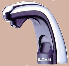electronic soap dispensers are terrific addition to any commercial restroom Hands Free Soap Dispenser, Soap Dispensers, Automatic Soap Dispenser, Red Led, Hand Washing, Faucet, Plugs, Lotion, Chrome