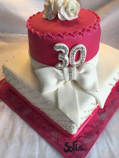 Torta 30 años