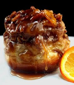 "Extra Gooey Orange Sticky Buns - ""So what happens if you take a brioche recipe by Nancy Silverton, and sticky bun inspiration from Joanne Chang of the Flour Bakery and add orange and chocolate? You get these sticky buns!"""