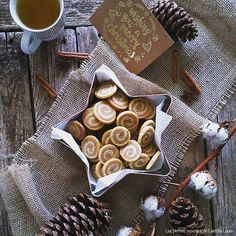 Sablés marbrés à la cannelle & vanille - semaine spéciale Bredele