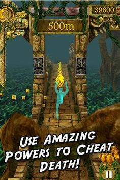 Popular iOS hit-game Temple Run finally lands on Android!