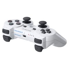 PS3 DUALSHOCK3 Blanco Rumble Official Sony por 61.78EUR en  http://www.opirata.com/dualshock3-blanco-rumble-official-sony-p-1541.html