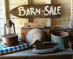My Barn Sale !
