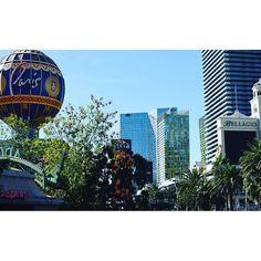 Sunny Sunday on the Las Vegas Strip.  #vegas #realtor #realestate #remax #lasvegas #vegasstrip