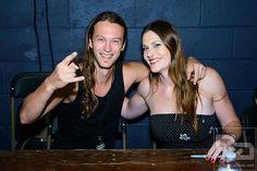 Mark Jansen and Floor Jansen