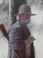 The Old Huntsman by Steven Lang OPAM by OilPaintersofAmerica