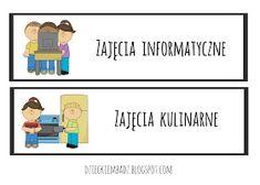 Dzieckiem bądź: Ilustrowany plan dnia DO POBRANIA Family Guy, Classroom, How To Plan, Education, School, Fictional Characters, Class Room, Onderwijs, Fantasy Characters