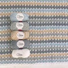 zomerse beach blanket - Echtstudio de haakspecialist! Modern Crochet Blanket, Crochet Ripple Blanket, Crochet For Beginners Blanket, Crochet Quilt, Crochet Cross, Love Crochet, Crochet Blanket Patterns, Crochet Yarn, Easy Crochet