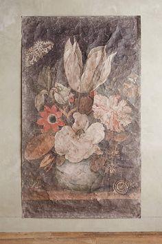"Petrichor Tapestry - anthropologie.com; 98.25""H, 57.5""W; $168"
