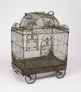 Cooper-Hewitt, National Design Museum  Bird Cage In The Form Of A Circus ... 18th Century