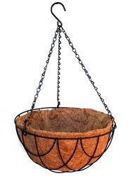 Hanging Basket: 12in Black Wire Hanging Basket
