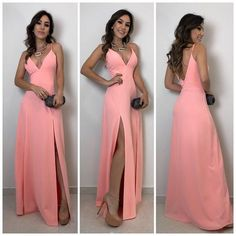Prom Dresses Long Pink, Open Back Prom Dresses, Bridesmaid Dresses, Formal Dresses, Wedding Dresses, Dress Prom, Fashion Vestidos, Make Your Own Dress, Prom Outfits