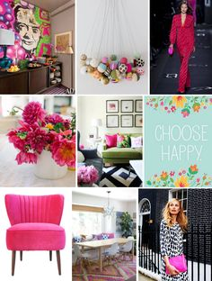 Mood Board Monday: Hot #Pink (http://blog.hgtv.com/design/2013/08/26/mood-board-monday-pretty-in-pink/?soc=pinterest)