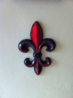Bling Fleur De Lis Wall Decor Embellished with by XtremeDecor, $95.00