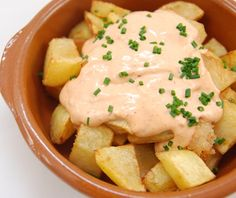 Patatas Bravas con Alliolli