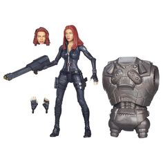 NEW Marvel Legends - BLACK WIDOW - Captain America BAF Mandroid +FREE SHIPPING+ #MARVEL #BlackWidow #Disney #TheAvengers