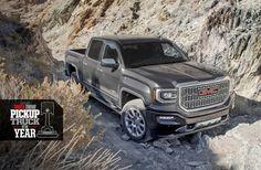 2016 GMC Sierra 1500 Denali earns coveted Truck Trend Pickup of the Year Award