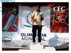 El pasado 18 de octubre el alumno Ángel Antonio Mendoza Esquivel obtiene el 1er lugar en la prueba Atletismo de 200 metros y pasa al Estatal.
