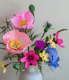 Paper flower arrangement perfect for birthdays and anniversary get paper flower arrangement mightylinksfo