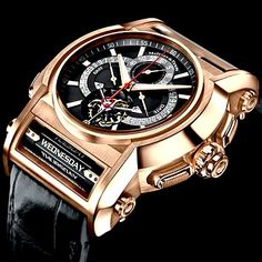 #Maitres Du Temps Chapter One What do you get when three of the greatest living watchmakers get together to produce one very special timepiece together? The answer is the Chapter One, from Maitres du Temps. This $395,000 timepiece is the work of Christophe Claret, Roger DuBuis and Peter Speake-Marin, and it is hailed as one of the most impressive timepieces to have been built in the last decade. DecoArt24.pl #Radom #roger-dubuis #horlogerie @calibrelondon