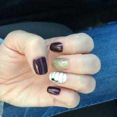 Lava and gold nails Gold Nails, My Nails, Lava, Gold Nail, Pallet, Golden Nails