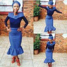 shweshwe dresses in south africa 2017