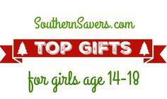 Check out the top Christmas gifts for girls age 14-18.