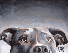 Pitbull Wall Art camo pit bull, staffordshire terrier, staffie, watercolor painting