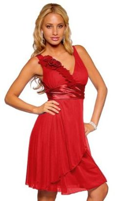 Sexy Floral Sleeveless Stretch Sheer V – neck Empire Waist Mini Slip – on Cocktail Dress – Red Rose Sheer Flower – Medium Cute Maternity Outfits, Maternity Fashion, Maternity Dresses, Little Red Dress, Dress Red, Red Cocktail Dress, Dream Dress, Dress Collection, Pretty Dresses