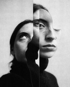 Surreal portraits by Jesse Draxler collage art Jesse Draxler Photography Collage, Surrealism Photography, Photoshop Photography, Creative Photography, Portrait Photography, Photography Ideas, Product Photography, Photography Lighting, Fashion Photography